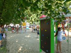 Otevření dětského hřiště v ulici Nové